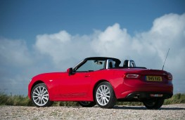 Fiat 124 Spider, static rear
