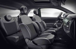 Fiat 500 Rockstar cabin