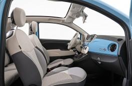 Fiat 500 Spiaggina'58 front seats