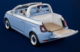 Fiat 500 Spiaggina'58 showcar boot open