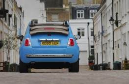Fiat 500C Twin Air hood down
