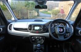 Fiat 500L Beats Edition, dashboard