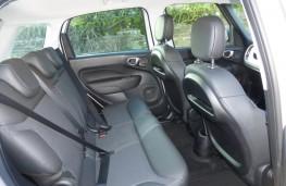 Fiat 500L Beats Edition, rear seats
