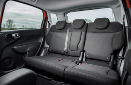 Fiat 500L, rear seats
