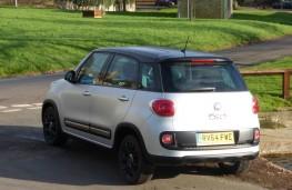Fiat 500L Beats Edition, rear static