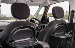 Fiat 500L, seat detail