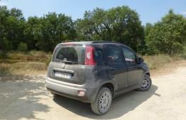 Fiat Panda, rear static
