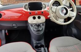 Fiat 500C 1.2 Lounge, dash