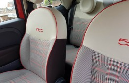 Fiat 500C 1.2 Lounge, seats