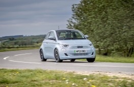 Fiat 500 EV, 2021, front