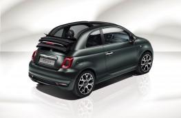Fiat 500 Rockstar, rear