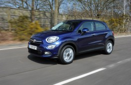 Fiat 500X, front