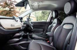 Fiat 500X City Cross, interior