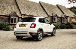 Fiat 500X City Cross, rear