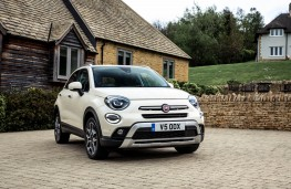 Fiat 500X City Cross, front
