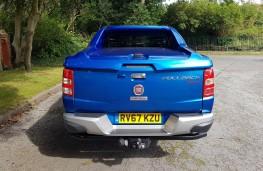 Fiat Fullback LX, rear