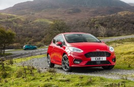 Ford Fiesta, 2017, front, CAR 1 plate