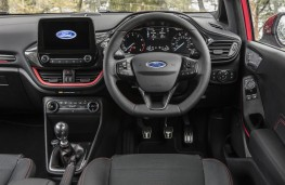 Ford Fiesta, 2017, dashboard