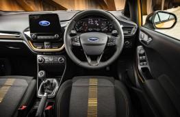 Ford Fiesta Active, 2018, interior