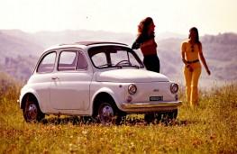 Fiat 500, 1957, original, promo shot