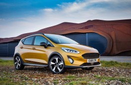 Ford Fiesta Active, front