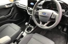 Ford Fiesta, interior