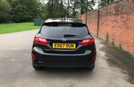 Ford Fiesta, rear