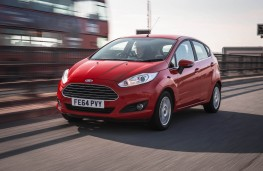 Ford Fiesta, front