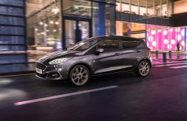 Ford Fiesta hybrid, 2020, front