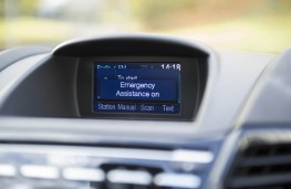 Ford Fiesta, emergency assistance display