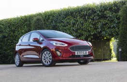 Ford Fiesta, 2017, front, static