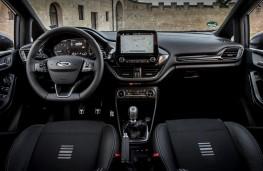 Ford Fiesta ST-Line, 2017, interior