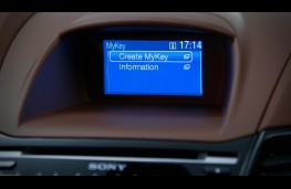 Ford Fiesta, MyKey display