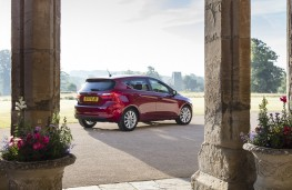 Ford Fiesta, 2017, side, static