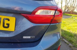 Ford Fiesta ST-Line, 2021, badge, rear