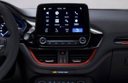 Ford Fiesta ST-Line, 2017, display screen