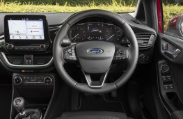 Ford Fiesta, 2017, interior