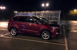 Ford Kuga Titanium X Sport, side, night