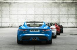 Jaguar F-TYPE British Design Edition, line up, rear