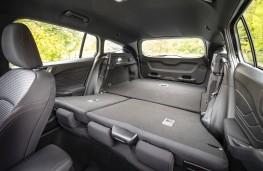 Ford Focus Estate, 2018, boot, maximum