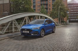 Ford Focus, 2021, front, action
