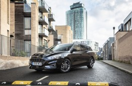 Ford Focus Estate, 2018, front, static