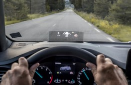 Ford Focus ST-Line, 2018, head up display