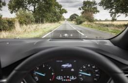 Ford Focus Titanium, 2018, head up display