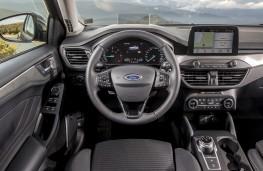 Ford Focus, 2018, interior, automatic