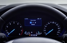 Ford Focus, 2018, instrument panel