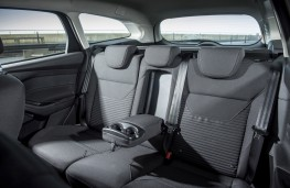 Ford Focus, rear seats