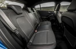 Ford Focus Titanium, 2018, rear seats