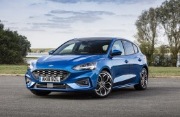 Ford Focus ST-Line, 2018, front