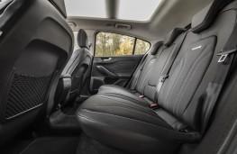 Ford Focus Estate Vignale, 2018, rear seats